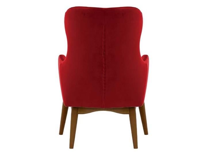 Fotel uszak Hollis Drewno Tkanina Kategoria Fotele do salonu