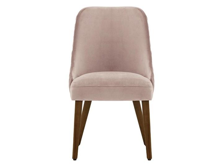Krzesło z przeszyciami Albion Pikowane Szerokość 51 cm Tkanina Wysokość 87 cm Drewno Głębokość 58 cm Pomieszczenie Jadalnia