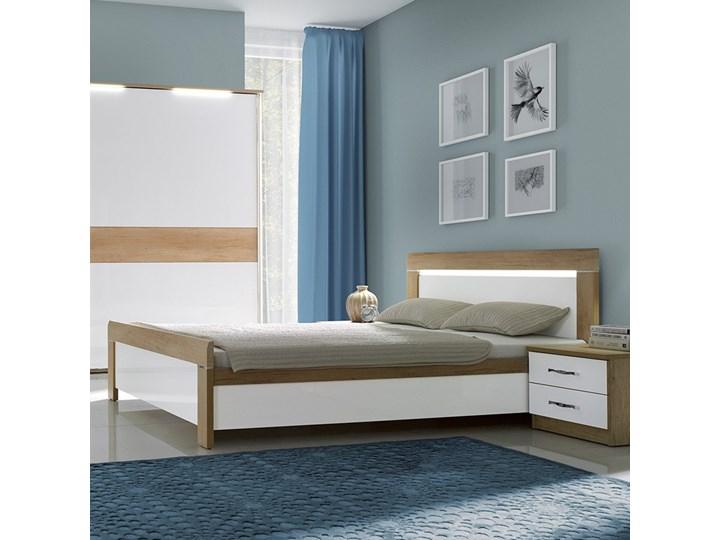 Łóżko MANHATTAN NEW ELEGANCE płytowe : Rozmiar - 140x200, Pojemnik - Bez pojemnika