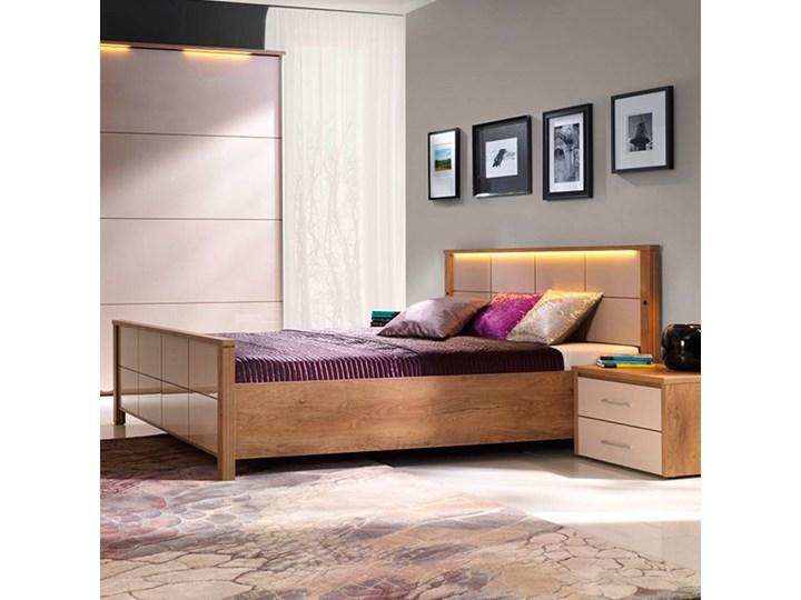 Łóżko WIEN NEW ELEGANCE płytowe : Rozmiar - 140x200, Pojemnik - Bez pojemnika