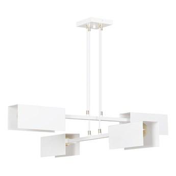 Lampa Dao 4 z czterema źródłami światła Biały