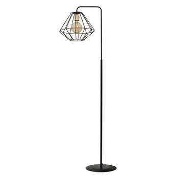 Lampa podłogowa Ella w stylu industrialnym Biały