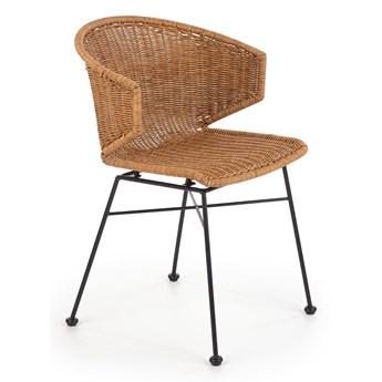 Krzesło do jadalni z rattanu syntetycznego K407