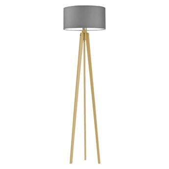 Lampa stojąca z drewna MIAMI WYSYŁKA 24H