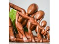 Rzeźba JOGIN MANO MEDIO Drewno Kolor Zielony