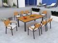 Zestaw mebli MOHITO - stół + 8 foteli MOHITO Kategoria Zestawy mebli ogrodowych Aluminium Styl Nowoczesny