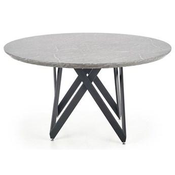 Elegancki okrągły stół Agnes - marmur