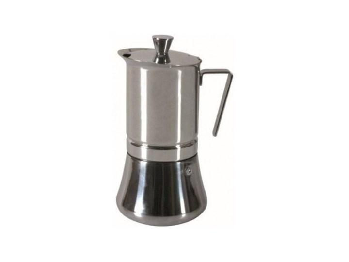Kawiarka GAT Futura 10 TZ Srebrny Stal Ceramika Kategoria Kawiarki i kafetery