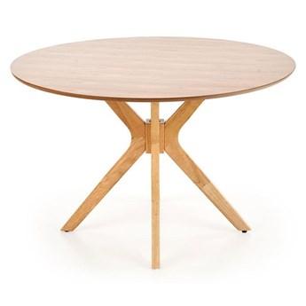 Okrągły stół minimalistyczny Shiva - dąb