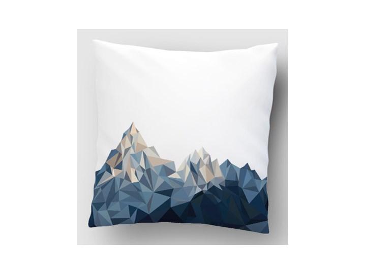 Góry Poliester Dzianina Kwadratowe Poszewka dekoracyjna 40x40 cm Wzór Z nadrukiem