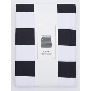 Sinsay - Komplet pościeli z bawełny 200x220cm - Czarny