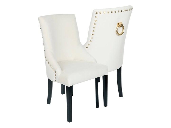 Krzesło Alexis 3, pinezki i kołatka Tapicerowane Drewno Krzesło inspirowane Kategoria Krzesła kuchenne Tkanina Styl Nowoczesny