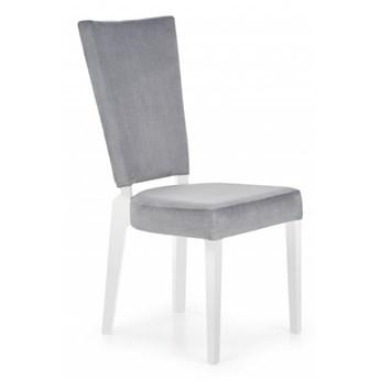 Krzesło Rois - popielaty + biały