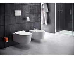 Misa WC oraz bidet Swiss Liniger Lorent z serii Rimless