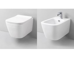 Misa WC oraz bidet Swiss Liniger Ivetta z serii Rimless