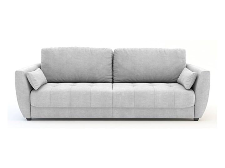 Salony Agata  Sofa TIVOLI 3-osobowa, rozkładana   szarości   Sofa 3-osobowa Głębokość 98 cm Szerokość 233 cm Powierzchnia spania 143x197 cm