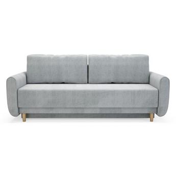 Sofa DINARO 3-osobowa, rozkładana   szarości     - Salony Agata