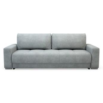 Sofa AZURRO 3-osobowa, rozkładana   szarości    Salony Agata