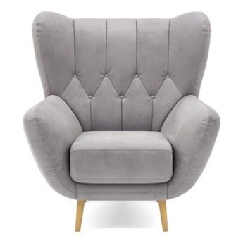 Fotel wypoczynkowy KELSO   szarości    Salony Agata