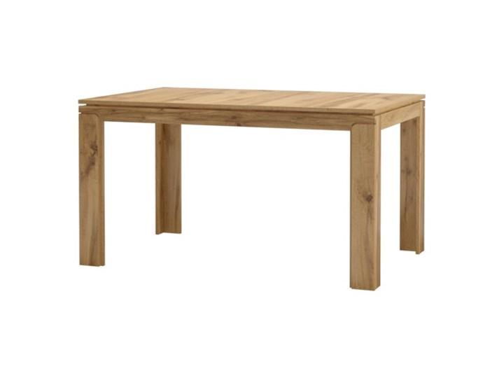 Salony Agata  Stół rozkładany BERGEN Szerokość 90 cm Rozkładanie Rozkładane Długość 56 cm Długość 200 cm  Długość 140 cm  Drewno Wysokość 76 cm Pomieszczenie Stoły do jadalni
