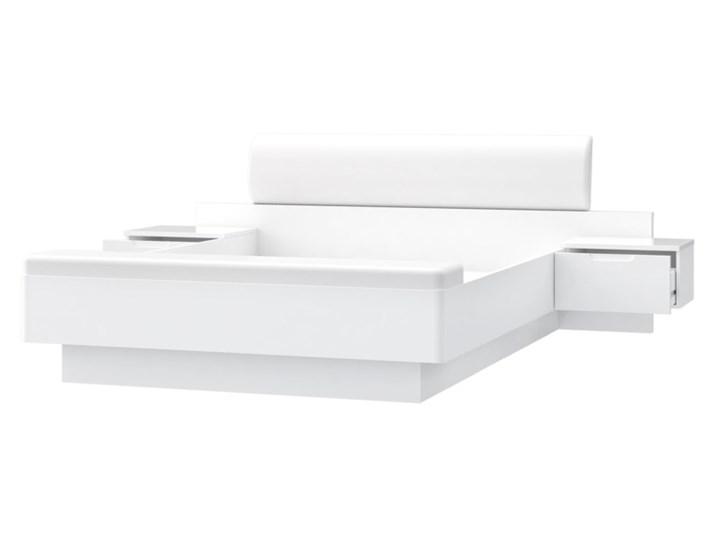 Salony Agata  Komplet GLOSSY, łóżko + 2 szafki nocne Kategoria Zestawy mebli do sypialni Pomieszczenie Sypialnia
