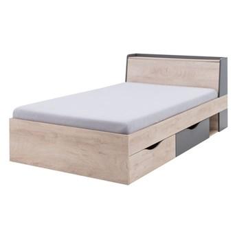 Łóżko DELTA 120 z szufladami i stelażem       Salony Agata