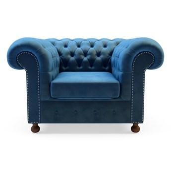 Fotel wypoczynkowy CHESTER   zielenie błękity   Fotel wypoczynkowy Salony Agata