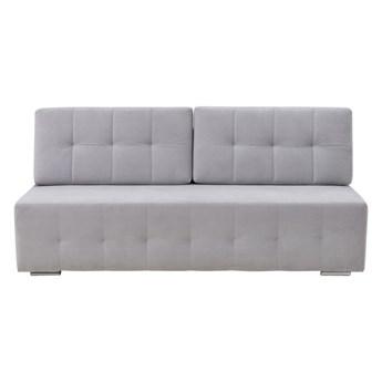 Sofa ADEL 3-osobowa, rozkładana   szarości    Salony Agata
