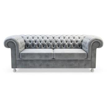 Sofa CHESTER 3-osobowa   szarości    Salony Agata