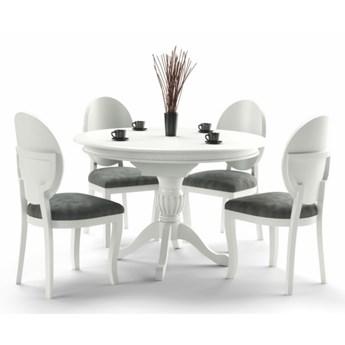SELSEY Stół rozkładany Valle 90-124x90 cm biały