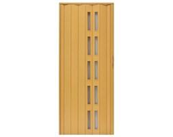 Drzwi harmonijkowe 005S-271-100 jasny dąb mat 100 cm
