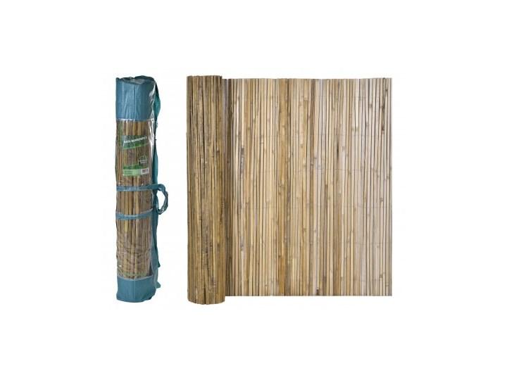 Mata osłonowa bambusowa 1,5x5m Kolor Beżowy Płotek ogrodowy Osłona balkonowa Kolor Beżowy