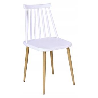 Krzesło retro KENDO BIAŁE