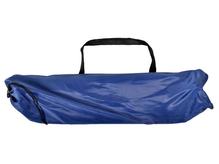 Leżak turystyczny plażowy składany Olek - granatowy Metal Kolor Składane Kategoria Leżaki ogrodowe