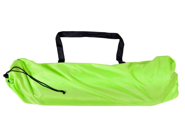 Leżak turystyczny plażowy składany Olek - limonka Metal Składane Kolor Zielony