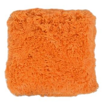 Poszewka dekoracyjna WŁOCHACZ 40 x 40 cm pomarańczowy poranek