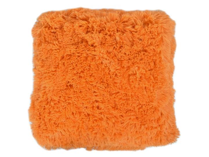 Poszewka dekoracyjna WŁOCHACZ 40 x 40 cm pomarańczowy poranek Kwadratowe Poliester 40x40 cm Kategoria Poduszki i poszewki dekoracyjne