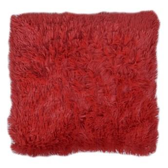 Poszewka dekoracyjna WŁOCHACZ 40 x 40 cm ognista czerwień