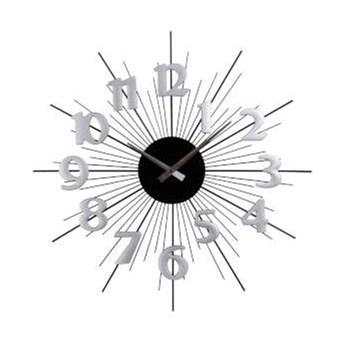 Zegar ścienny Classic - 50cm srebrny