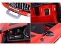 Samochodzik MERCEDES AMG GTR czerwony Pojazdy elektryczne Jeździki
