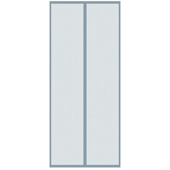 Moskitiera magnetyczna na drzwi 100x220 cm szara