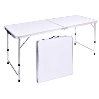 Stół turystyczny TRIP kempingowy składany 120x60 cm biały