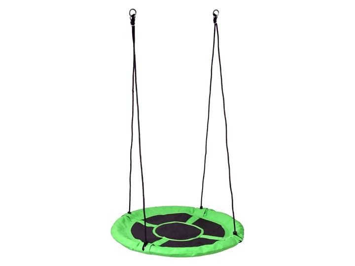 Huśtawka ogrodowa bocianie gniazdo ROMEK zielona 100cm Pianka Metal Kategoria Huśtawki dla dzieci