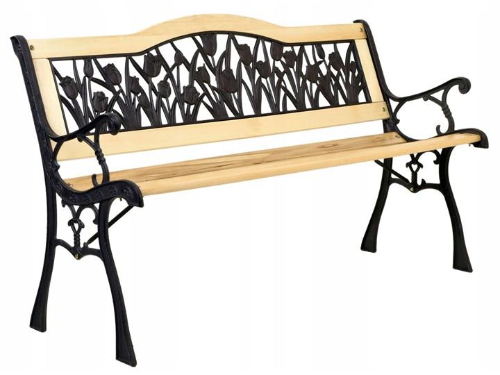 Ławka ogrodowa żeliwna TULIP
