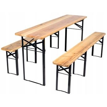 Zestaw piwny stół 170 cm + 2 ławki
