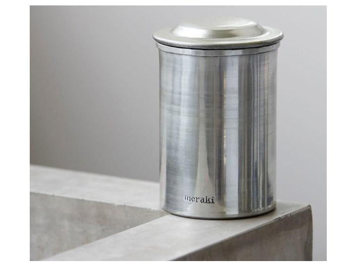 Meraki - Pojemnik do przechowywania Silver Metal Kolor Srebrny Typ Pojemniki