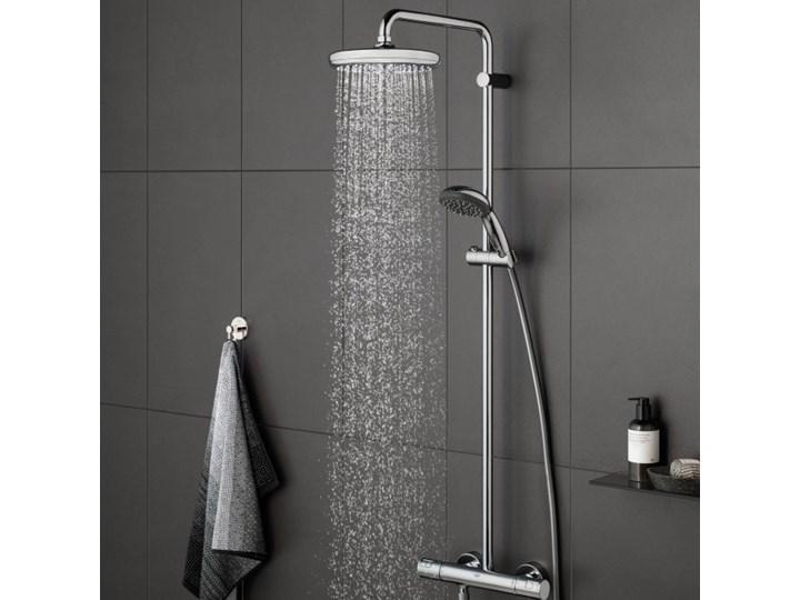 Kolumna prysznicowa Grohe Vitalio Start śr. 21 cm z baterią termostatyczną Wyposażenie Z termostatem Wyposażenie Z słuchawką