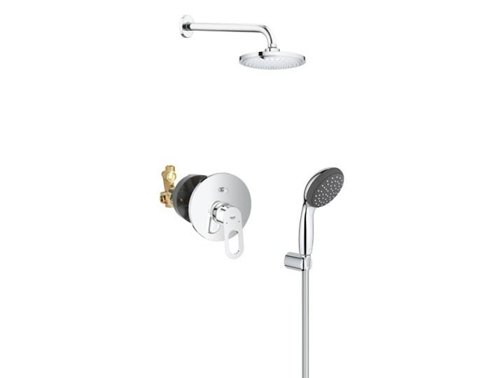 Zestaw podtynkowy Grohe Start Loop 1-funkcyjny śr. 18 cm z baterią chrom Kategoria Zestawy prysznicowe Wyposażenie Z deszczownicą