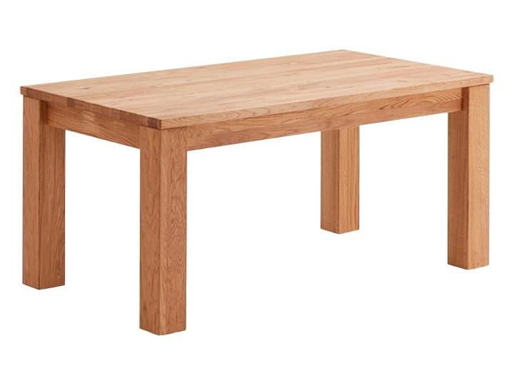 Stół dębowy rozkładany Blox Soolido Meble Drewno Ceramika Kamień Wysokość 78 cm Metal Pomieszczenie Stoły do salonu