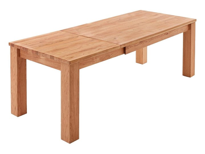 Stół dębowy rozkładany Blox Soolido Meble Kamień Ceramika Wysokość 78 cm Drewno Metal Rozkładanie Rozkładane